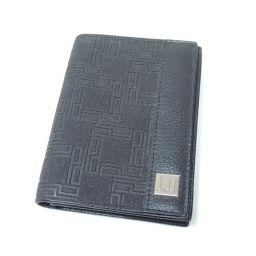 Dunhill【ダンヒル】 カードケース PVC/レザー/レザー メンズ