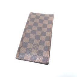 LOUIS VUITTON【ルイ・ヴィトン】 N61823 長財布(小銭入れなし) ダミエキャンバス レディース