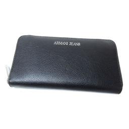 ARMANI JEANS【アルマーニ・ジーンズ】 長財布(小銭入れあり) 合成皮革 メンズ