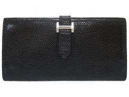 HERMES【エルメス】 8059 長財布 リザード/リザード メンズ