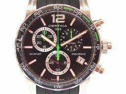 【】 C027.417A 腕時計 ステンレススチール/ラバー/ステンレススチール メンズ