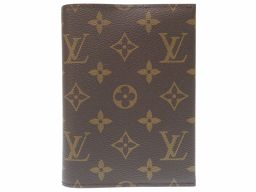 LOUIS VUITTON【ルイ・ヴィトン】 M60468 手帳カバー モノグラムキャンバス/モノグラム レディース