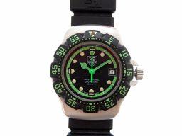 TAG HEUER【タグホイヤー】 WA1415 腕時計 ステンレススチール/ラバー レディース