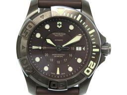 【】 241562 スイスアーミー 腕時計 ステンレススチール/ラバー メンズ