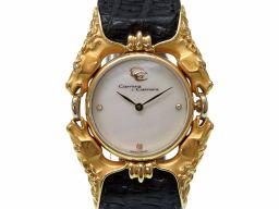 Carrera y Carrera【カレライカレラ】 腕時計 K18イエローゴールド レディース