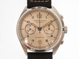 HAMILTON【ハミルトン】 H764160 腕時計 ステンレススチール/レザー メンズ