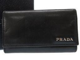 PRADA【プラダ】 キーケース レザー/レザー メンズ
