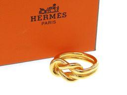 HERMES【エルメス】 スカーフリング /メタル ユニセックス