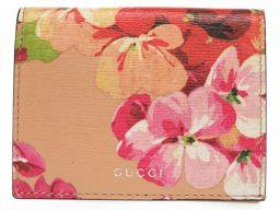 GUCCI【グッチ】 410120 フラワー カードケース レザー/レザー レディース