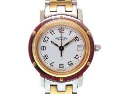 HERMES【エルメス】 CL4.220 7621 腕時計 ステンレススチール/ステンレススチール レディース