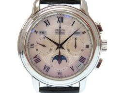 ZENITH【ゼニス】 03.1230.410 7564 クロノマスター 腕時計 ステンレススチール/ステンレススチール メンズ