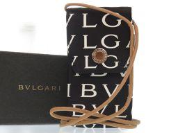 BVLGARI【ブルガリ】 ロゴマニア ショルダーバッグ キャンバス/キャンバス レディース