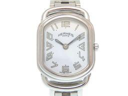 HERMES【エルメス】 RA1.210 腕時計 ステンレススチール/ステンレススチール レディース
