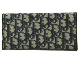 Christian Dior【クリスチャンディオール】 長財布 PVCコーティングキャンバス/PVCコーティングキャンバス レディース