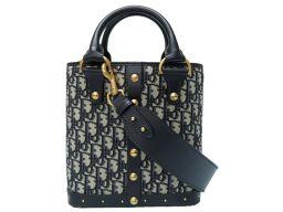 Christian Dior【クリスチャンディオール】 M5861CTZQ ハンドバッグ キャンバス/レザー レディース