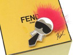 FENDI【フェンディ】 ブローチ /メタル ユニセックス
