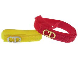 Christian Dior【クリスチャンディオール】 ブレスレット /マジックテープ レディース