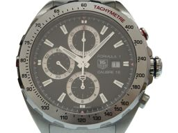 TAG HEUER【タグホイヤー】 CAZ2010-0 7801 クロノグラフ 腕時計 ステンレススチール/ステンレススチール メンズ