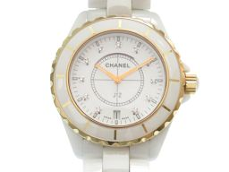 CHANEL【シャネル】 H2180 ホワイト セラミック 腕時計 /ホワイトセラミック メンズ