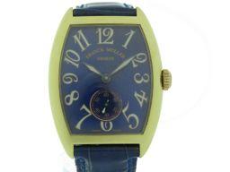 FRANCK MULLER【フランクミュラー】 7502 S6 G 腕時計 K18イエローゴールド/レザー/K18イエローゴールド ユニセックス