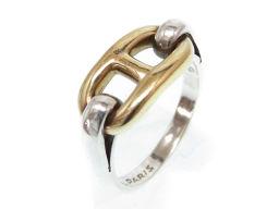 HERMES【エルメス】 リング・指輪 K18イエローゴールド/シルバー925/シルバー レディース