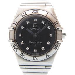 OMEGA【オメガ】 腕時計 ダイヤモンド/ステンレススチール/ステンレススチール レディース