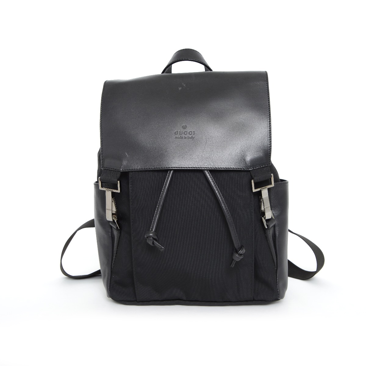 7333a7d349f886 GUCCI 【Gucci】 Backpack · Daypack Nylon / Leather Women ー The ...