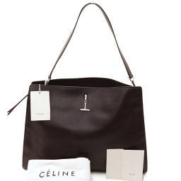 CELINE【セリーヌ】 ショルダーバッグ レザー/シルバー金具 レディース