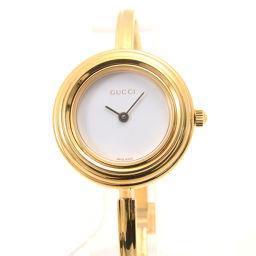 GUCCI【グッチ】 11・12.2 着せ替えベゼル 腕時計 ステンレススチール レディース
