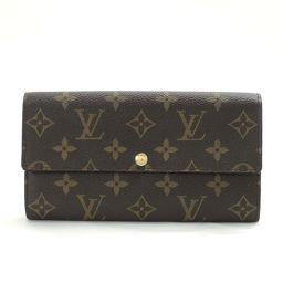 LOUIS VUITTON【ルイ・ヴィトン】 二つ折り財布(小銭入れあり) モノグラムキャンバス ユニセックス