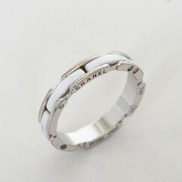 CHANEL【シャネル】 J12 ミニウルトラリング  ホワイト リング・指輪 /セラミック ユニセックス