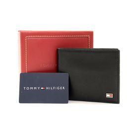 TOMMY HILFIGER【トミーヒルフィガー】 二つ折り財布(小銭入れあり) カーフ メンズ