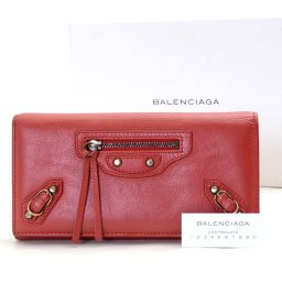 BALENCIAGA【バレンシアガ】 299494 二つ折り財布(小銭入れあり) ラムスキン レディース