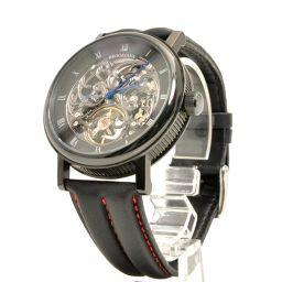 BROOKIANA【ブルッキアーナ】 BA1654 腕時計 レザー/ステンレススティール メンズ