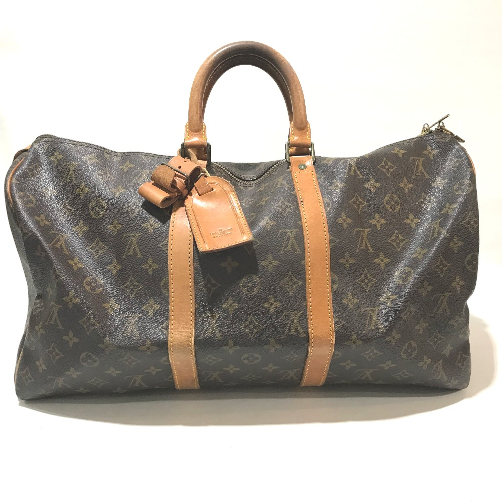 Details About Authentic Louis Vuitton Monogram Keepall 50 Travel For Boston Duffle Bag M41426