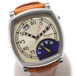 VAGARY【バガリー】 腕時計 SS/革ベルト メンズ