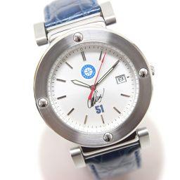 no brand【ノーブランド】 イチローモデル メジャーリーグウォッチ 腕時計 SS/革ベルト メンズ