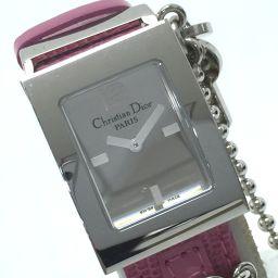 Dior【ディオール】 スクエア マリス レディース腕時計 腕時計 SS/レザー レディース