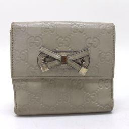 GUCCI【グッチ】 グッチシマ PRINCY(プリンシー) Wホック財布 二つ折り財布(小銭入れあり) 2985 レディース