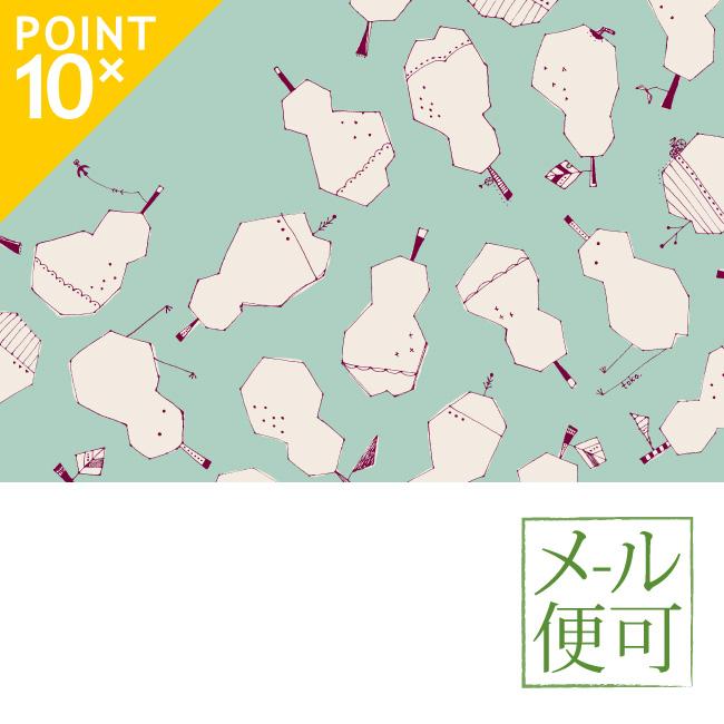 ()  mashu KYOTO 風呂敷 ラ・フランス柄 二四巾(90cm)  00032  和装小物