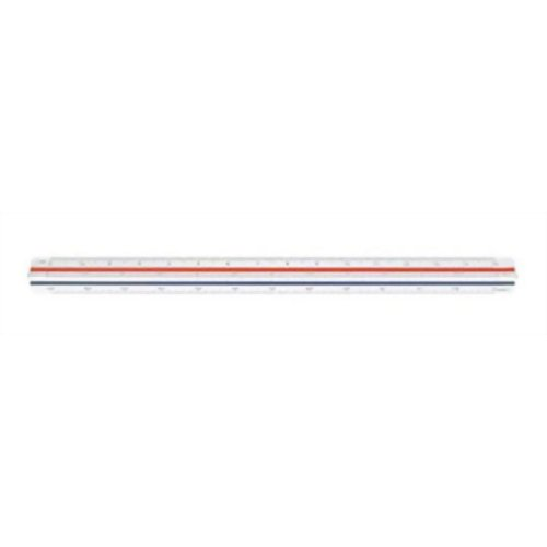 マービー ウチダ 建築士用三角スケール 30cm ホーム&キッチン 定規(ものさし)
