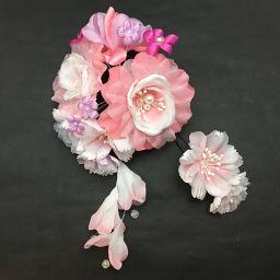 ()Watmosphere Cute ワトモスフィア キュート 8W102 ピンク  和装小物