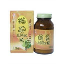 ユーワ ユーワ 甜茶100% 180粒 健康食品 甜茶(てんちゃ)