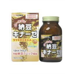 ユーワ ユーワ ゴールデン納豆キナーゼ 150カプセル 健康食品 ナットウキナーゼ(納豆キナーゼ)