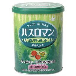 アース製薬 バスロマン 森林温浴 680g(入浴剤) 日用品 薬用入浴剤 疲労回復