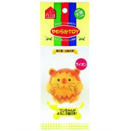 ペティオ やわらかTOY ライオン ペット用品 ラテックスおもちゃ・玩具(犬用)