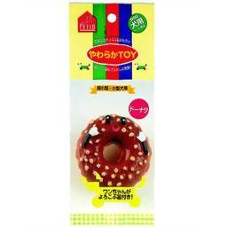 ペティオ やわらかTOY ドーナッツ ペット用品 ラテックスおもちゃ・玩具(犬用)