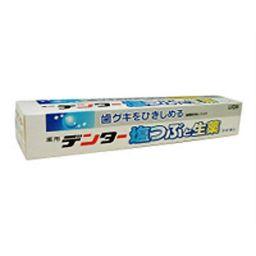 ライオン デンター 塩つぶと生薬ライオン 日用品 歯周病歯磨き
