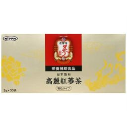 日本製粉 正官庄 高麗紅蔘茶 3g×30袋 健康食品 高麗人参(朝鮮人参)