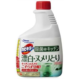 ジョンソン カビキラー 除菌@キッチン 漂白・ヌメリとり 付替用 400g 日用品 漂白剤 キッチン用
